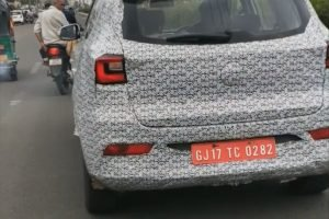 MG eZS Spied Testing In India