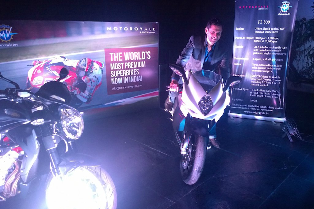 MV Agusta F3 800 India Unveil