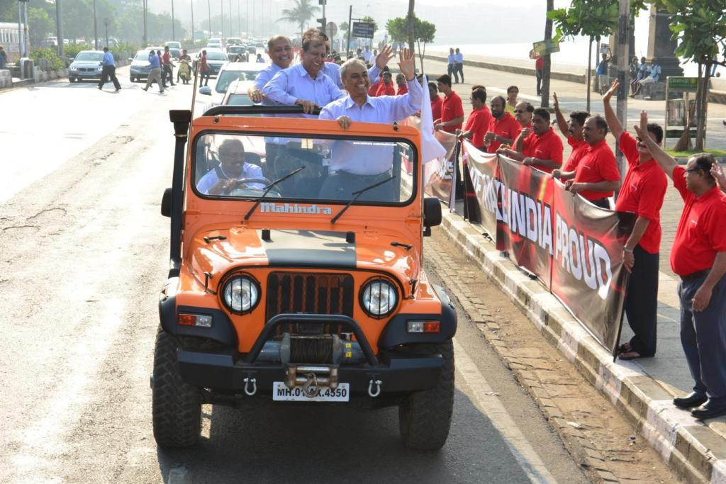 Mahindra 50 Lakh Vehicles
