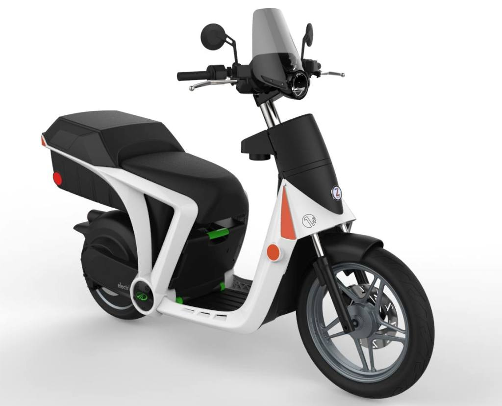 Mahindra GenZe Electric Scooter Front