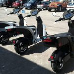 Mahindra GenZe Electric Scooter Rear