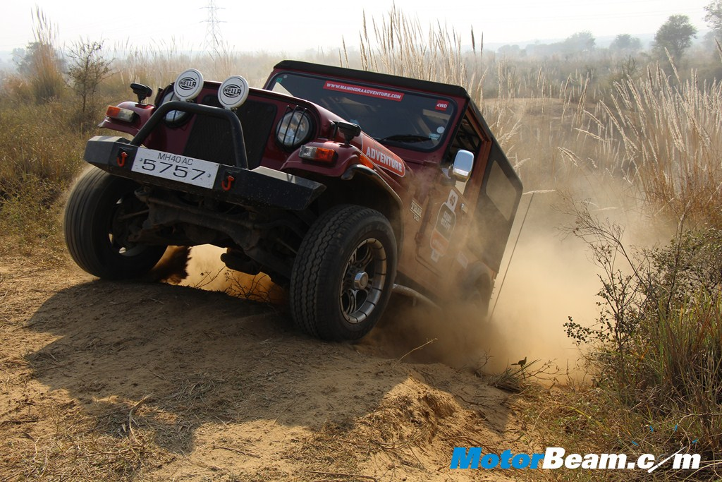 Mahindra Great Escape Thar Performance