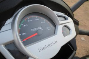 Mahindra Gusto Instrument Cluster