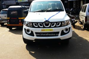 Mahindra Imperio Front Spied