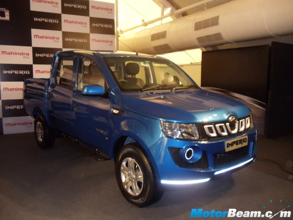 Mahindra Imperio Reveal