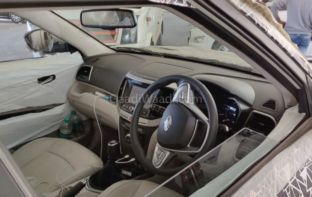 Mahindra Inferno Leaked Interiors