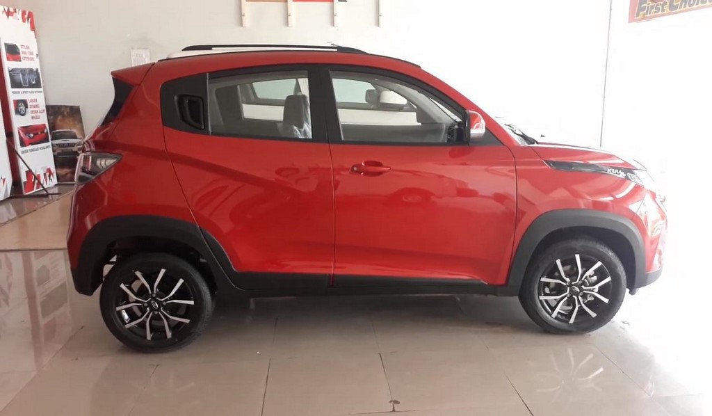 Mahindra KUV100 NXT Side Profile