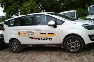 Mahindra Marazzo Side Profile