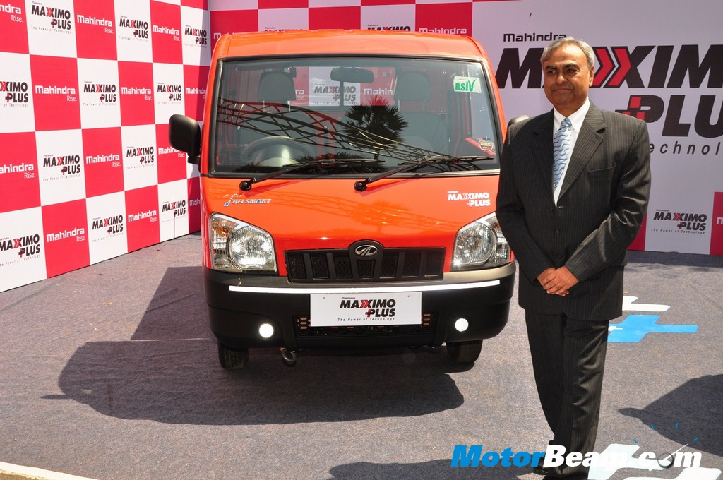 Mahindra-Maximo-Plus-Launch