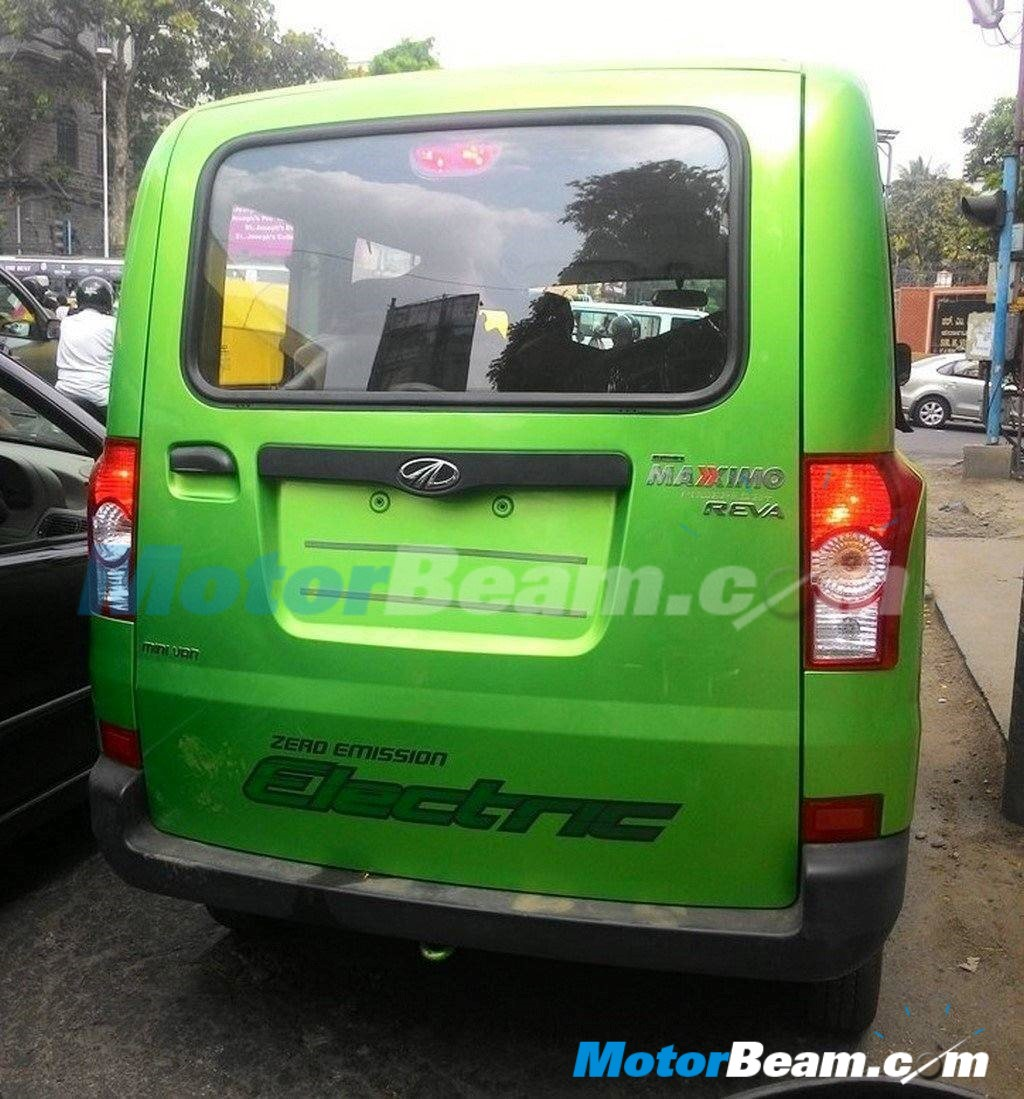 Mahindra Maxximo Electric Spotted Testing In India
