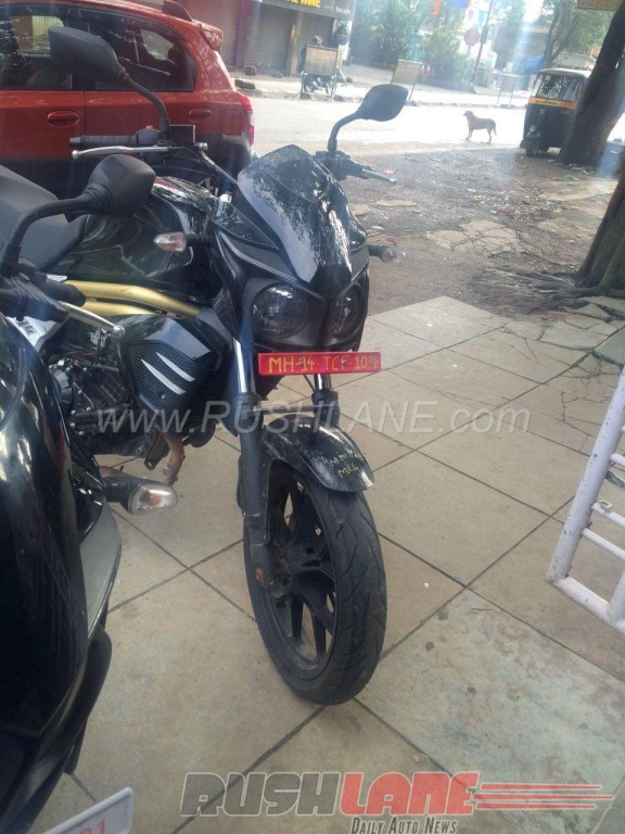 Mahindra Mojo Changes In Spied Model