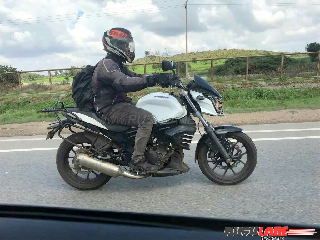 Mahindra Mojo Cheaper Version Spotted