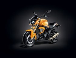 Mahindra Mojo Yellow