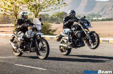 Royal Enfield Himalayan vs Mahindra Mojo – Shootout