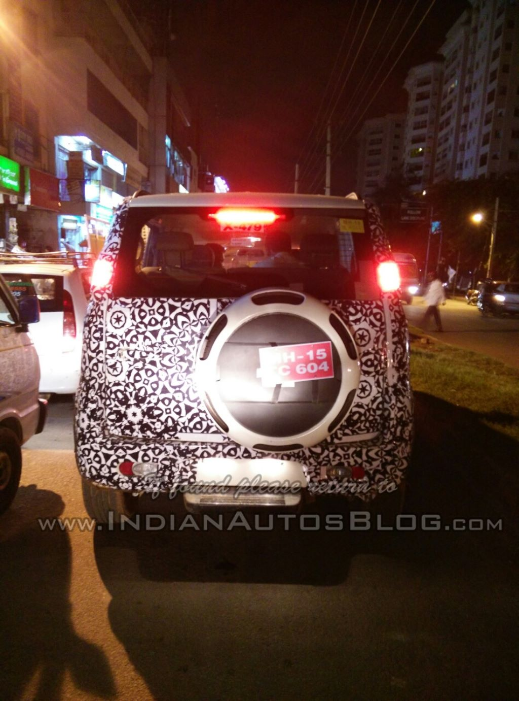 Mahindra Quanto Facelift Spotted