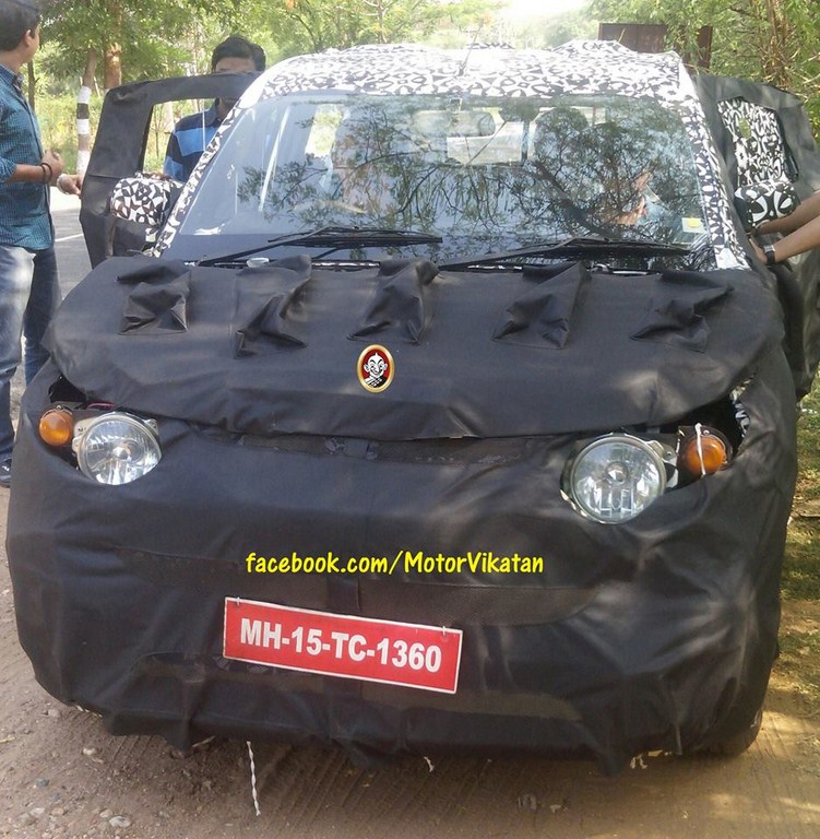 Mahindra S101 Spy Pictures Front