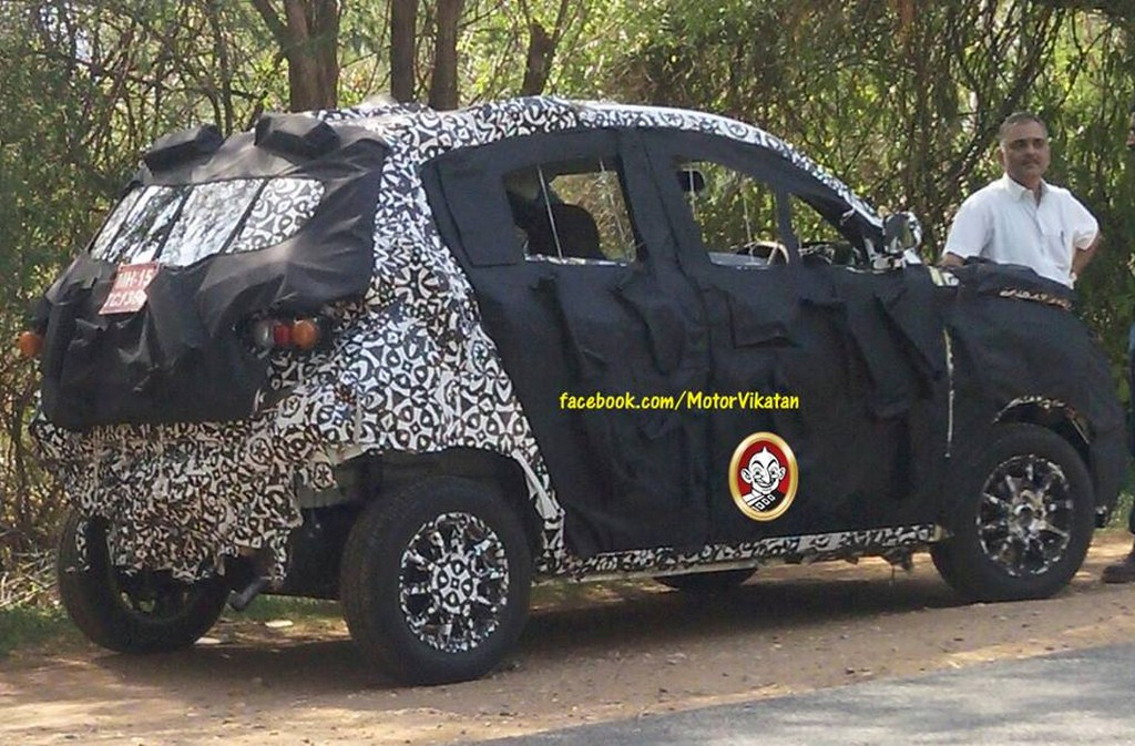 Mahindra S101 Spy Pictures
