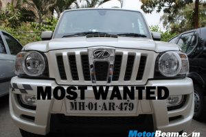 Mahindra Scorpio Most Wanted