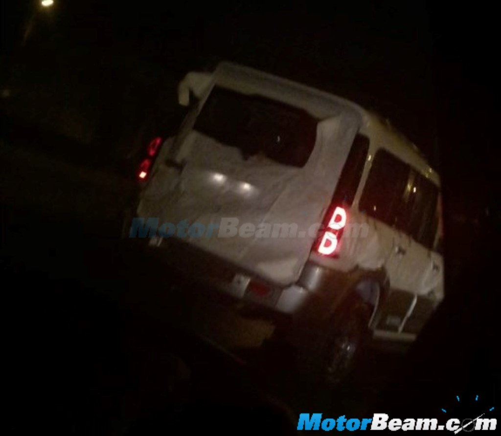 Mahindra Scorpio Special Edition Spied