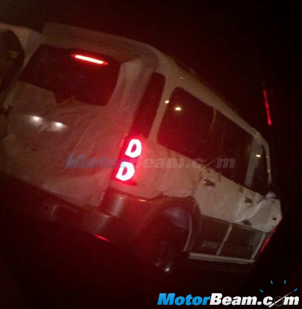 Mahindra Scorpio Special Edition Spotted