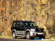 Mahindra Scorpio long term side