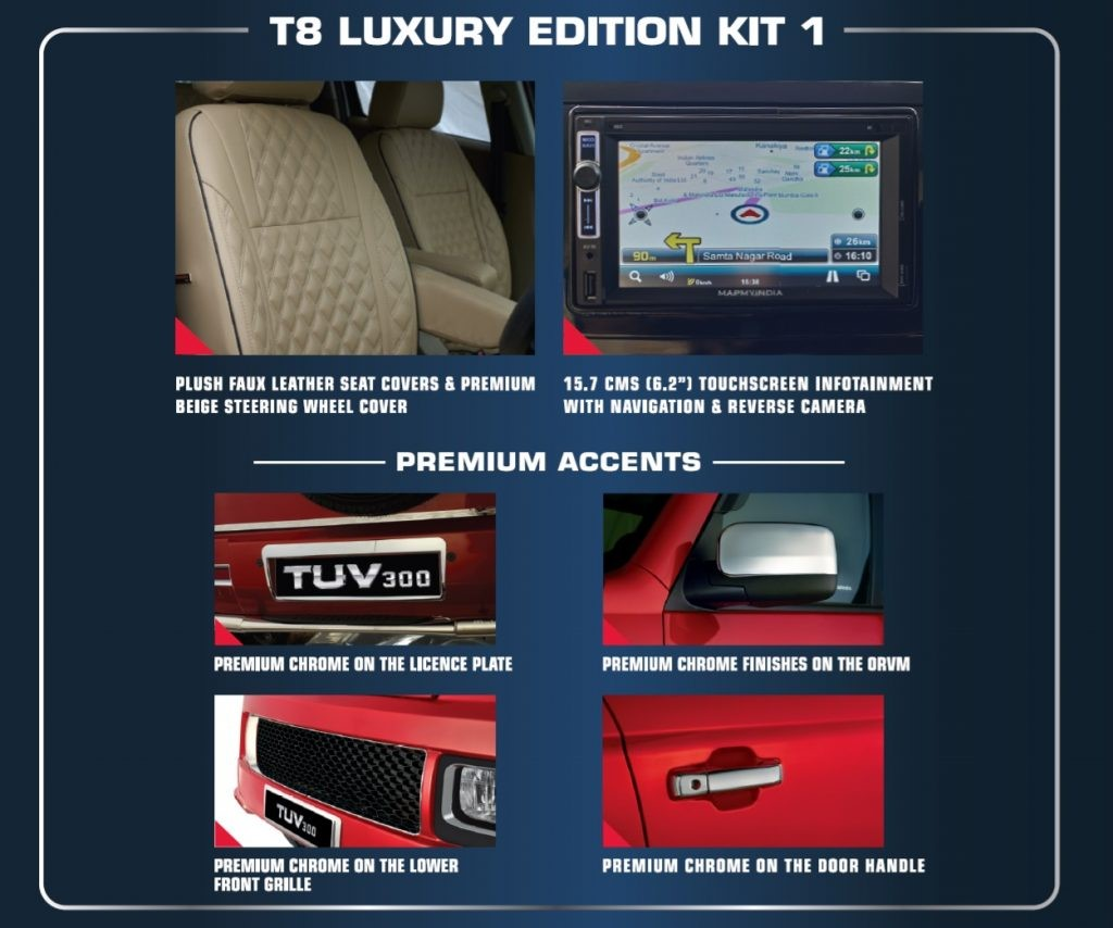 Mahindra TUV300 Luxury Edition Kit