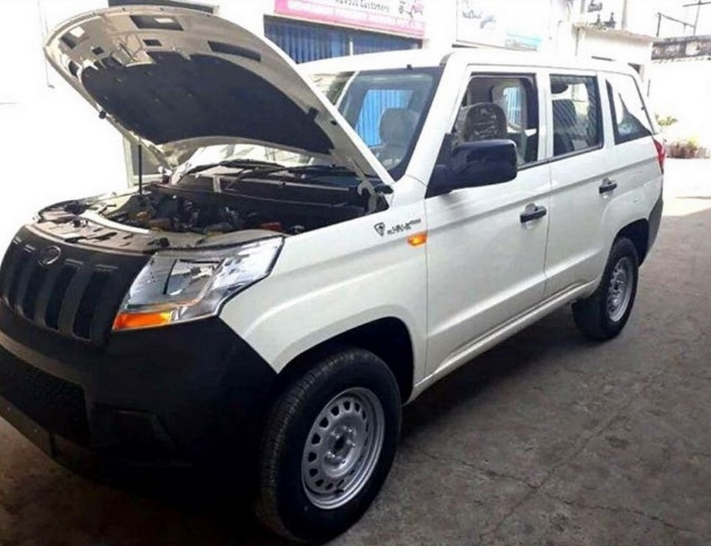 Mahindra TUV300 Plus Spotted