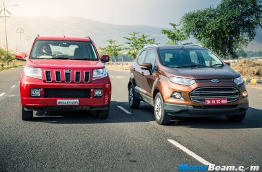 Ford EcoSport vs Mahindra TUV300 – Shootout
