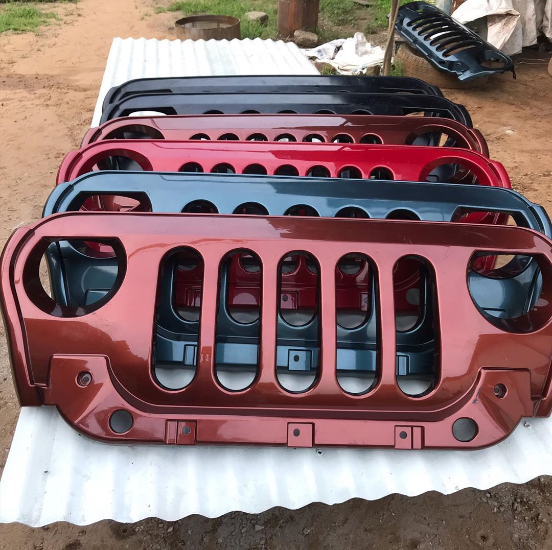 Mahindra Thar Aftermarket Grille