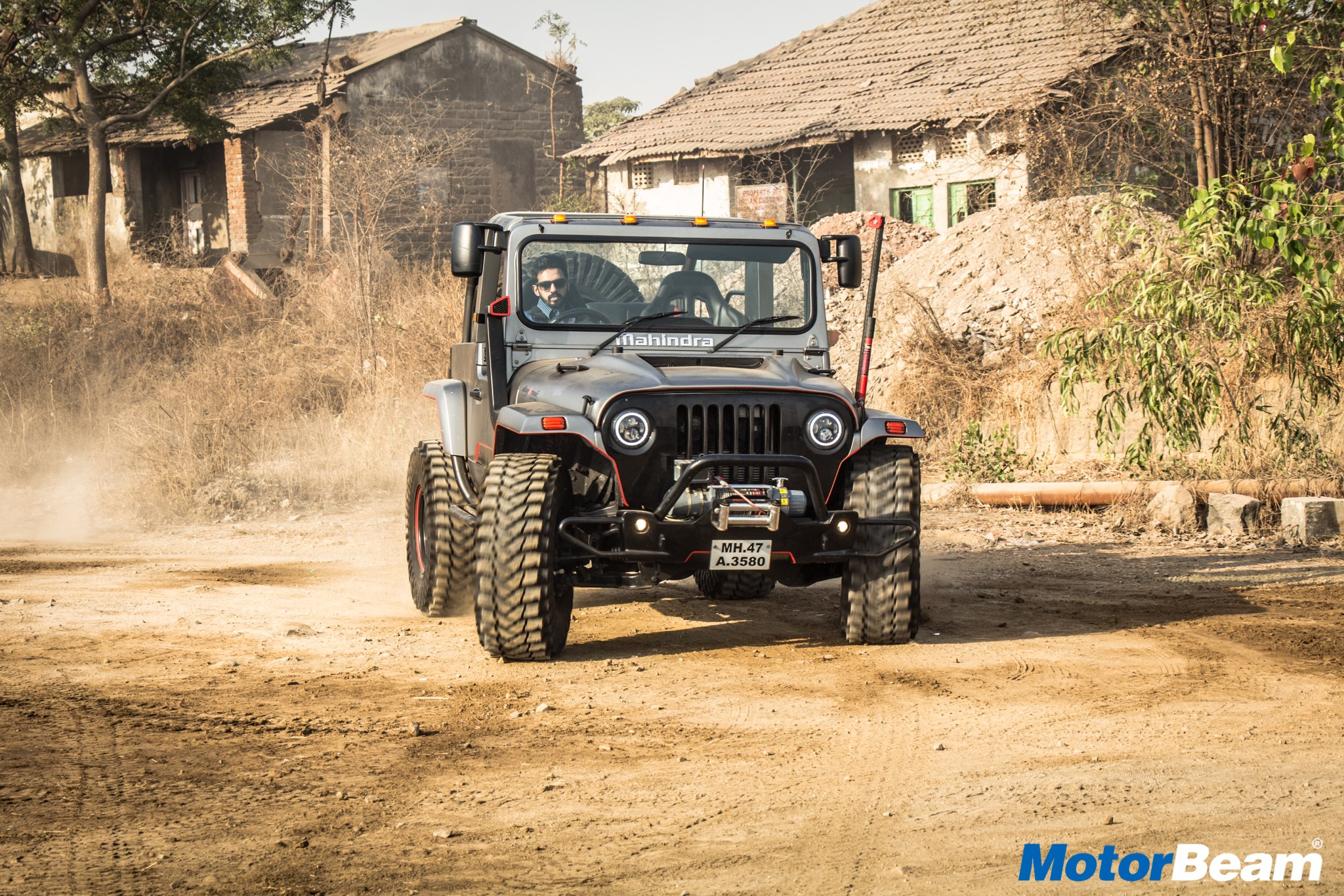 Mahindra Thar Daybreak Test Drive Review Auto Breaking News