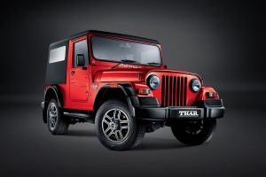 Mahindra Thar Red