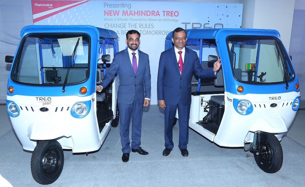 Mahindra Treo Launch