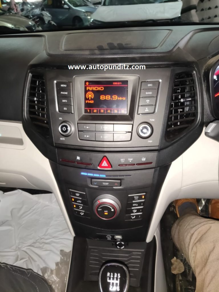 Mahindra XUV 300 Base Variant Dashboard Spied