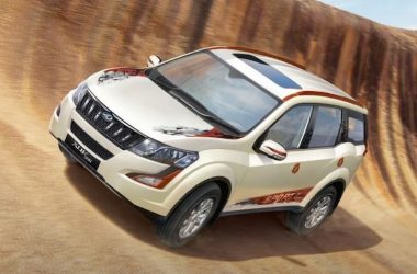 Mahindra XUV500 Sportz Limited Edition Launched, Priced From Rs. 16.5 Lakhs