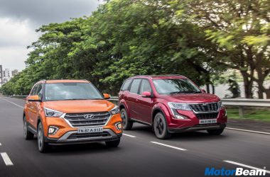 Mahindra XUV500 vs Hyundai Creta Video Shootout