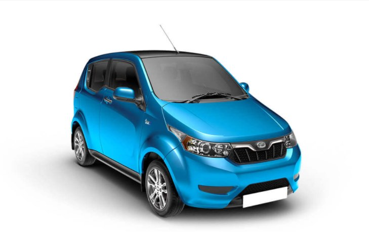 Mahindra e2o Plus Blue
