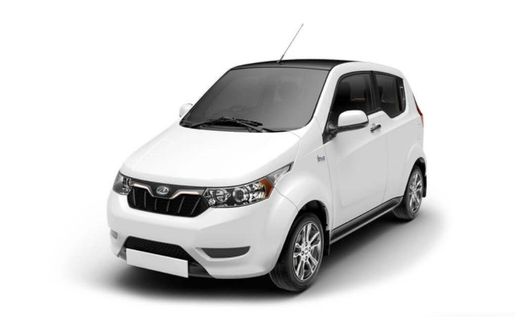 Mahindra e2o Plus White