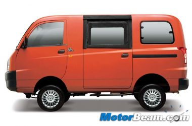Mahindra Launches Maxximo Hard Top Van