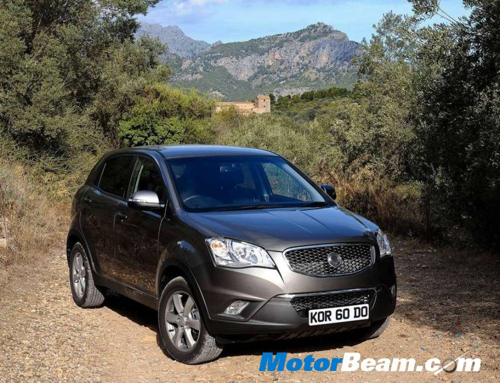 new car launches by mahindraMahindra Ssangyong To Launch Small SUV