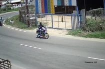 Man Steals Motorcycle