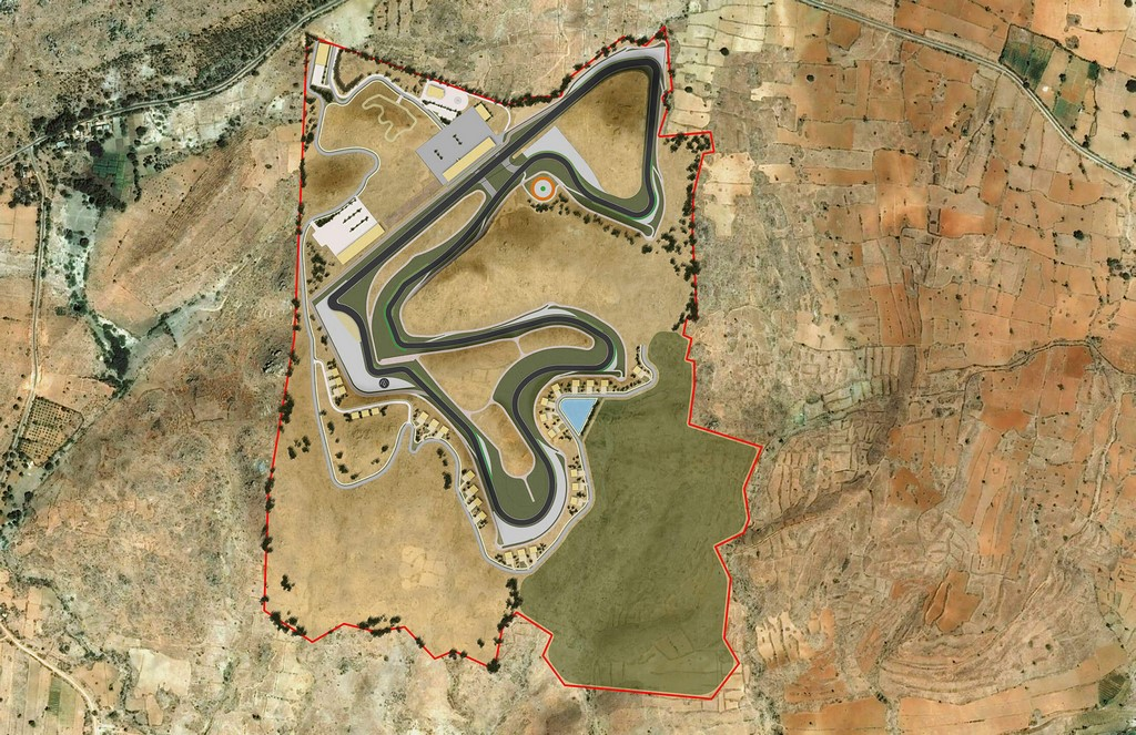 Marque One Motor Club Racetrack First Master Plan Render