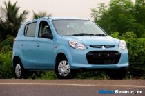 Maruti Alto 800 Test Drive Review