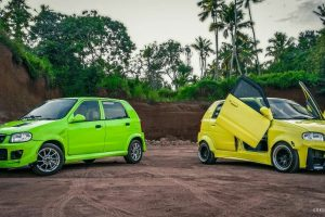 Maruti Alto Modified Duo, Feature Wide Body Kits & More [Video]