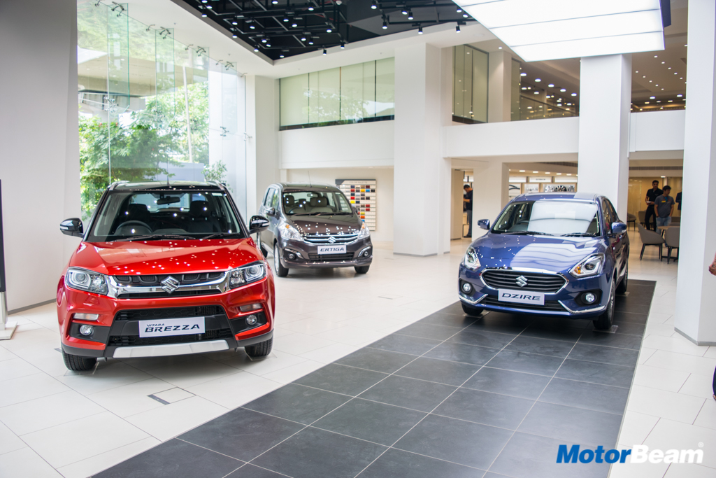 Maruti Suzuki Arena Unveiled Showrooms To Be Revamped Motorbeam