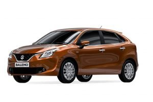 Maruti Baleno Orange