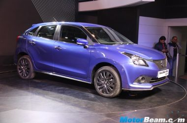 Maruti Baleno RS Brochure Leaked, Produces 100 BHP