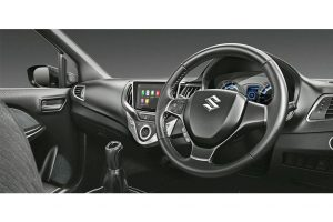 Maruti Baleno RS Dashboard