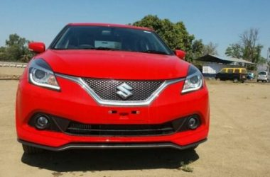 Maruti Baleno RS Images Surface Ahead Of Launch