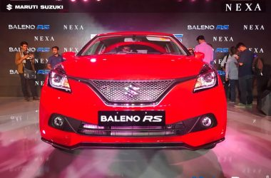 Maruti Baleno RS Launched, Priced At Rs. 8.69 Lakhs
