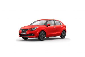 Maruti Baleno RS Red